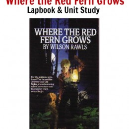 Our Where the Red Fern Grows Literature Unit Study & Lapbook