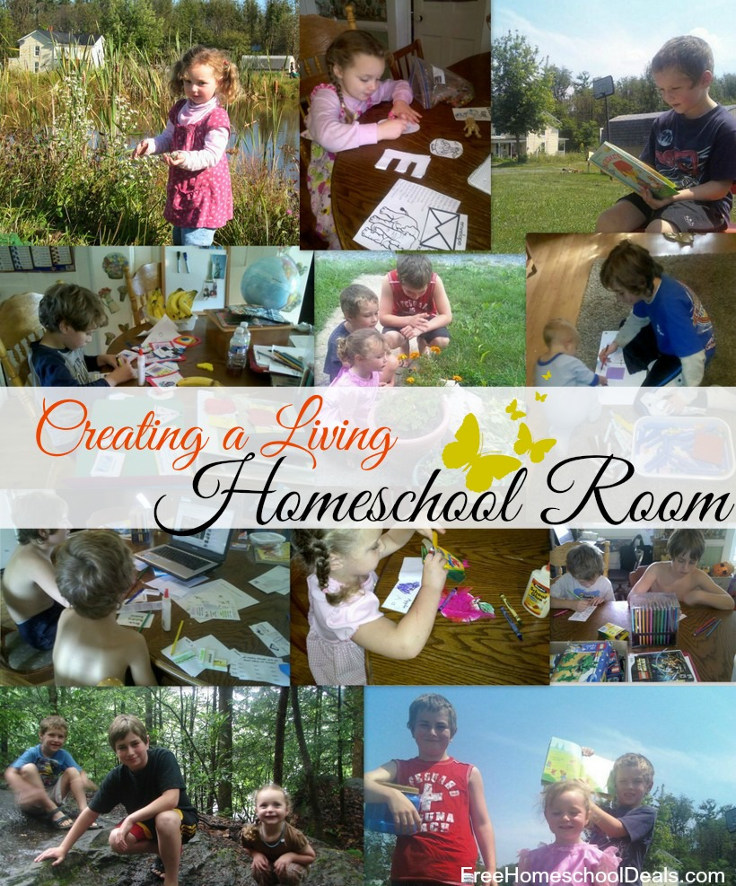 Creating a homeschool room