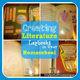 Creating A Literature Lapbook & Lapbooking Tips