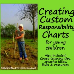 Creating Custom Responsibility Charts for Young Children