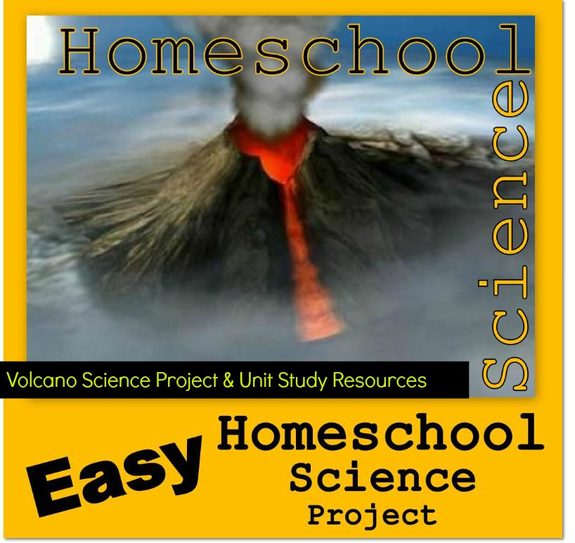 Homeschool Volcano Science