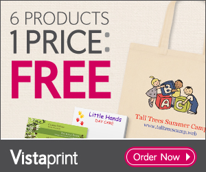 Vistaprint Discounts & Promotional Offers. Varying discounts are available for use through the Vistaprint site. These discounts include a variety of different deals including twenty to thirty percent off a few select items. The discounts that are available will vary based on each product and the time of the year.