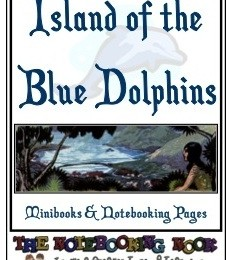 FREE Island of the Blue Dolphins Notebooking Pages