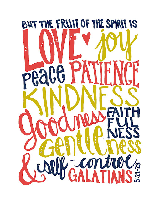 Fruit of the Spirit Framable Printable