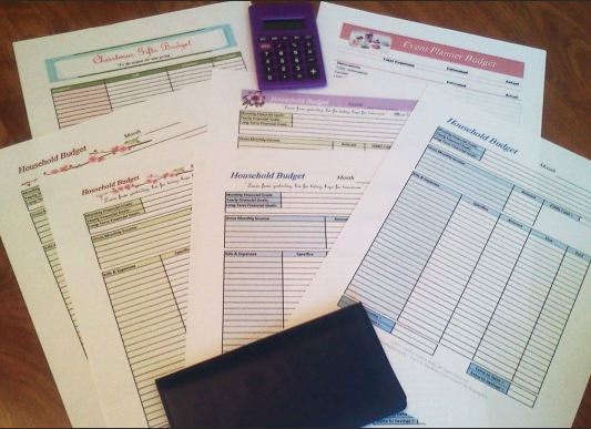 Free Printable Budgeting Worksheets – Larry Burkett Budget Worksheet