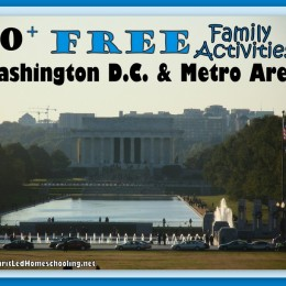 10 Free Family Activities for Washington D.C. & Metro Area