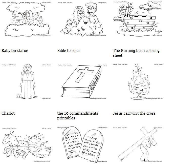 Free Homeschool Printables: Christian Coloring Pages | Free ...