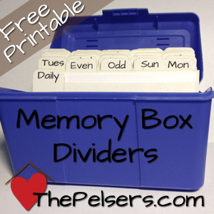 How to Make a Scripture Memory Box
