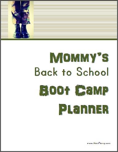 Back to School Planner