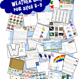 Free Weather Unit Printables Pre-K/4th