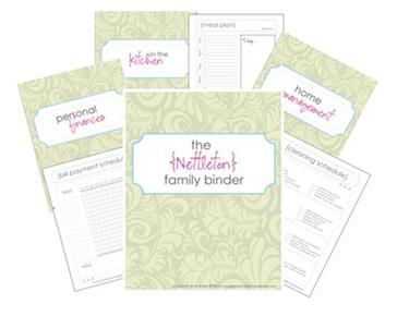 Free Family Binder Printables
