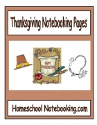 Thanksgiving Notebooking Pages