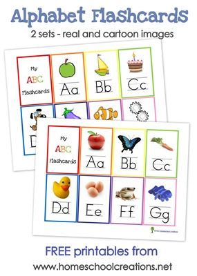FREE Alphabet Flash Cards and Alphabet