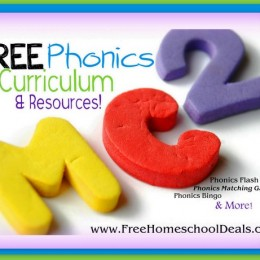 Free Phonics Curriculum & Resources: Phonics Flash Cards, Phonics Bingo, You Can Teach Your Child to Read, + More!