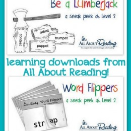 Two Free Learning Downloads for Kids from All About Learning {Limited Time}