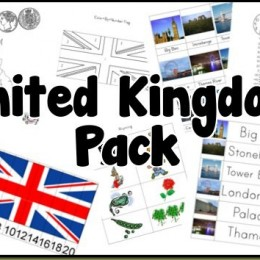 Free United Kingdom Printables Pack