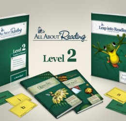 Homeschool Sale: All About Reading Level 2 Released & 10% Off Sale!