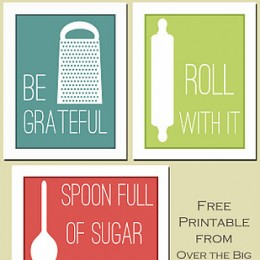 Free Printable Kitchen Prints