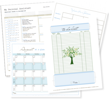 Free Life Management Binder Printables