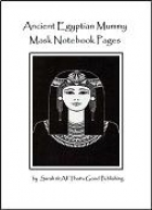 Free Ancient Egyptians Mummy Mask Notebooking Pages