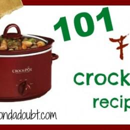 Easy 101 Crock Pot Recipe Ideas for Fall