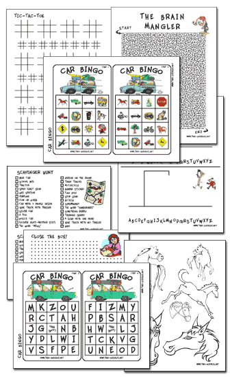 Printable Kid Games