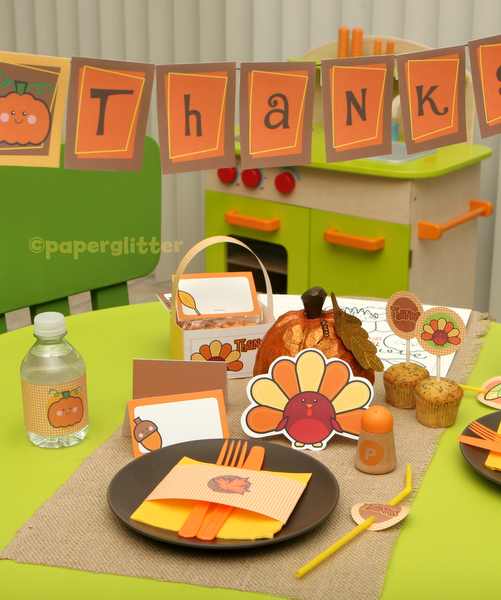 free thanksgiving meal printables