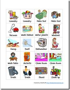 Free Preschool Chore Charts Free Homeschool Deals
