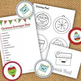 Free Printable Christmas Activity Kit
