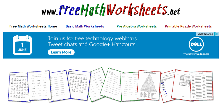 Free Educational Resource: Free Math Worksheets | Free Homeschool ...
