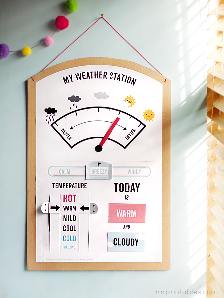 free printable weather station free homeschool deals Â