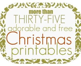 free christmas printables free homeschool deals - Holiday Printables Free