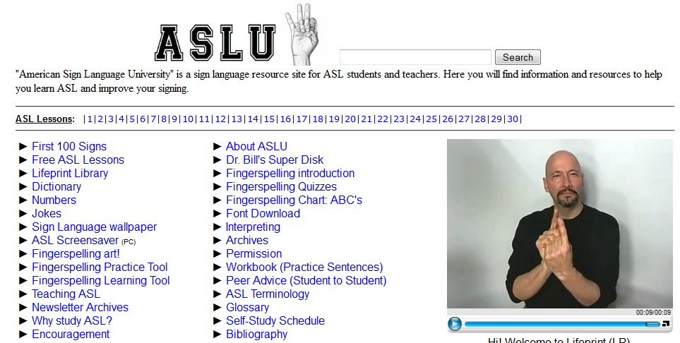 Learn Sign Language Screenshot