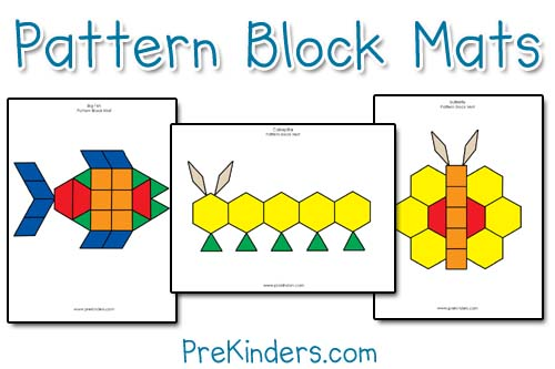 free pattern block pages