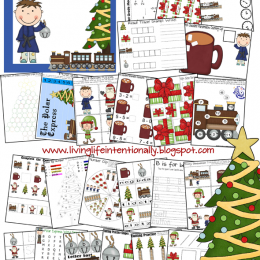 Free Polar Express MEGA Printable Pack (53 Pages)