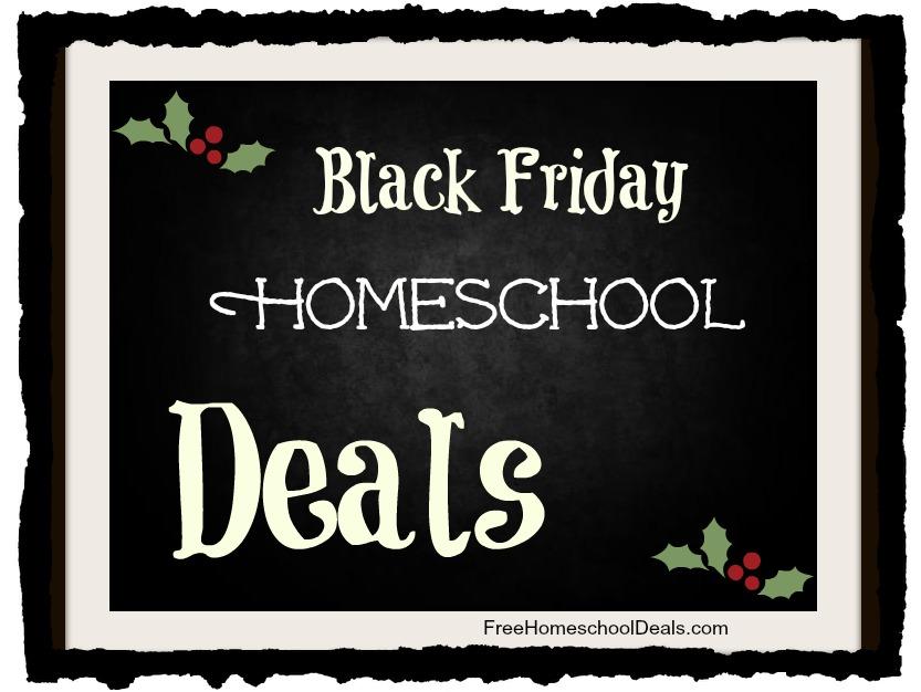 Black Friday Homeschool Deals