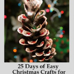 Free eBook: 25 Days of Easy Christmas Crafts for Kids (Subscriber Freebie)