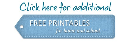 Free Homeschool Printables
