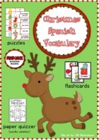 Free Christmas Spanish Vocabulary Activities