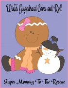 FREE Winter Gingerbread Cover and Roll Printable Dice Game