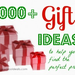 1000+ Gift Ideas to Help You Find the Perfect Present