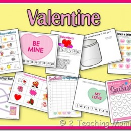 Free Valentine's Day Preschool Printable Pack