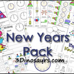 Free New Years Printable Pack (50-Pages!)