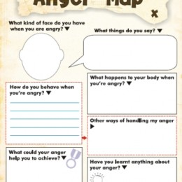 Free Anger and Feelings Worksheets for Kids