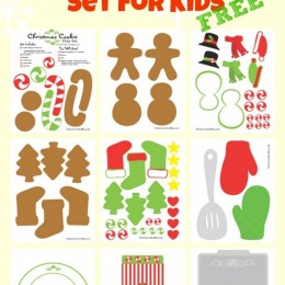 Free {Cute} Christmas Baking Printables