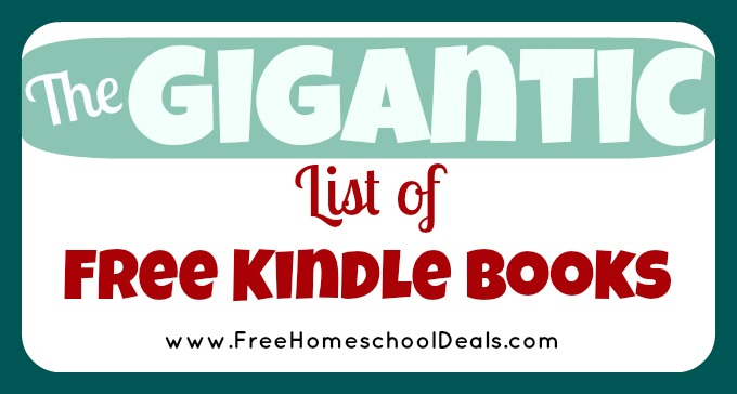Free Kindle Books Homeschool