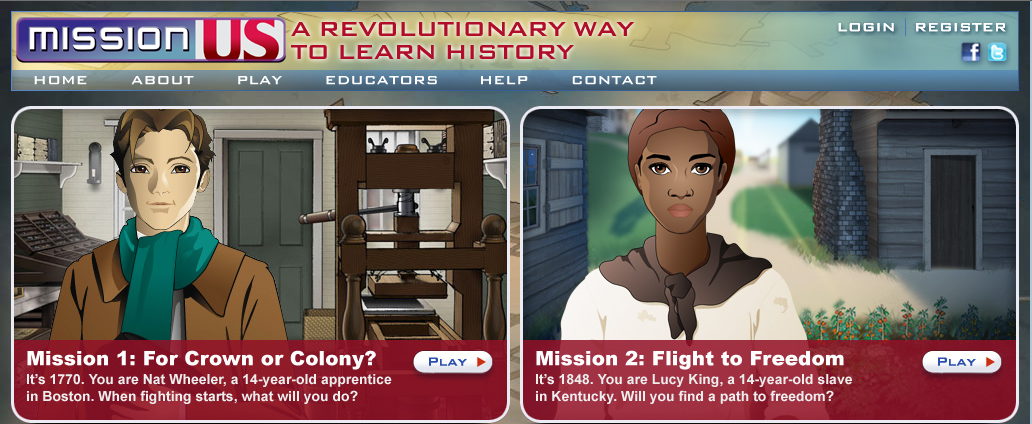 Free Educational Resource: Mission US - Learn US History