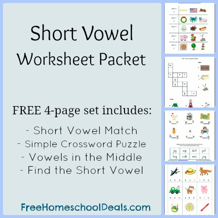 Worksheets Printable Vowel Worksheets free short vowel worksheets match simple crossword worksheets