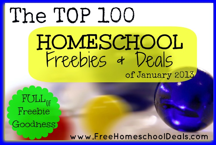 Homeschool Freebies and Deals