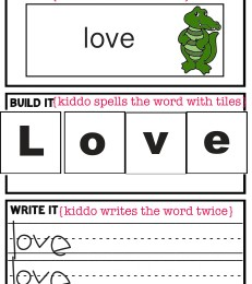 Free Read It, Spell It, Write It Printable Set